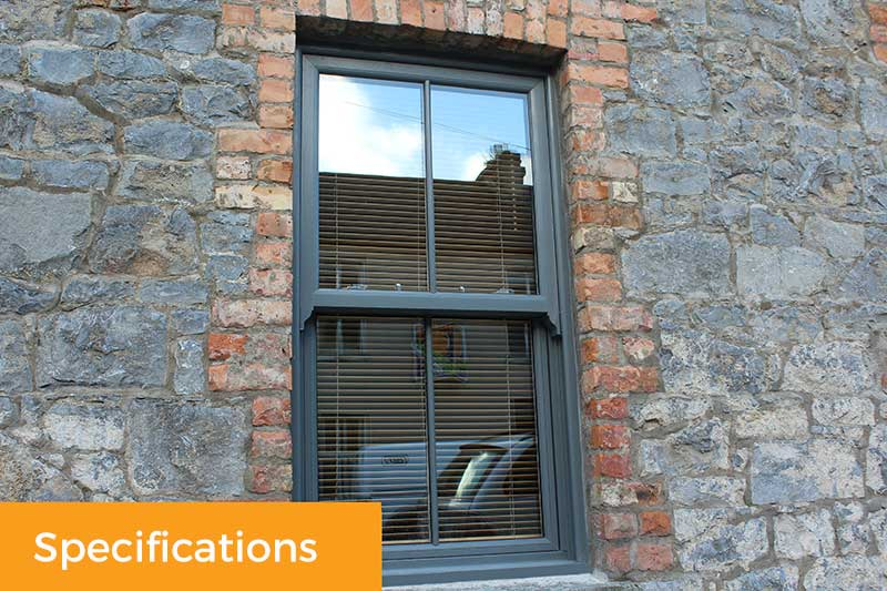 Townhouse Sash Window Specifications
