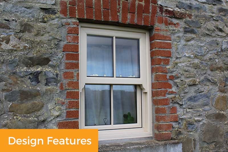 Townhouse Sash Window Features